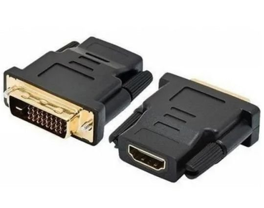 ADAPTADOR DVI-MACHO X HDMI-FEMEA