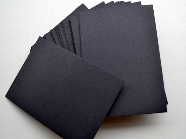 PAPEL COLOR SET PRETO 48X66CM VMP