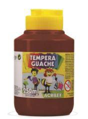 TINTA GUACHE 250ML MARROM ACRILEX