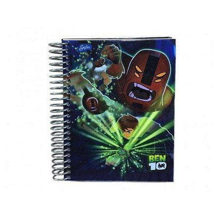 CADERNETA CD 1/16 96F BEN10 (TILIBRA)