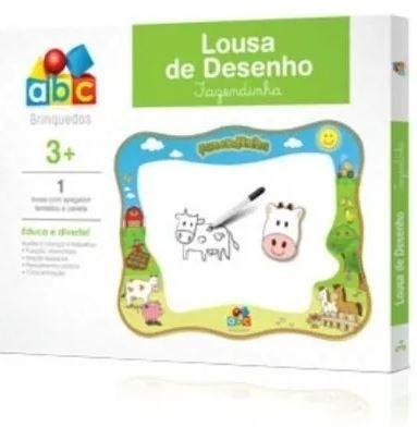 BRINQUEDO EDUCATIVO LOUSA DE DESENHO FAZENDINHA ABC BRINQUEDOS 8001
