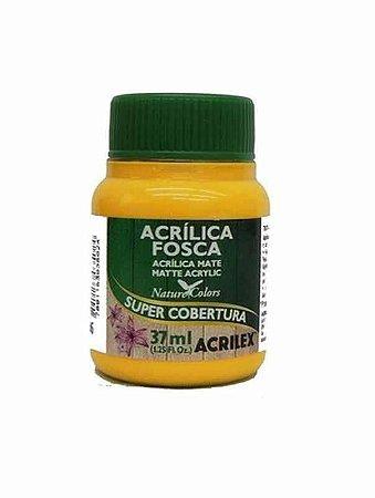TINTA ACRILICA FOSCA AMARELO OURO 37ML ACRILEX 505