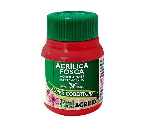 TINTA ACRILICA FOSCA VERMELHO SCARLATE 37ML ACRILEX 508
