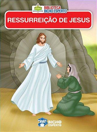LIVRO MINI BIBLICO A RESSURREICAO DE JESUS BICHO ESPERTO