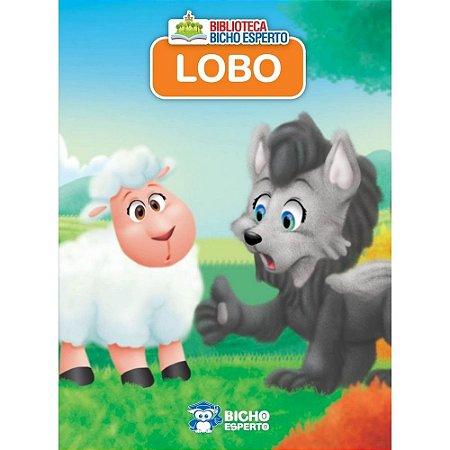 LIVRO MINI ANIMAIS LOBO BICHO ESPERTO