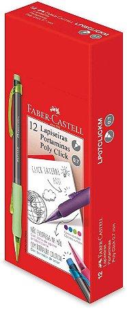LAPISEIRA 0.7 POLY CLICK AZUL FABER CASTELL