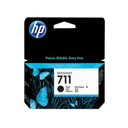 CARTUCHO HP 711 PRETO 38 ML ORIGINAL