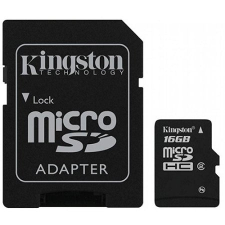 CARTAO DE MEMORIA  16 GB (CL. 4)(KINGSTON)