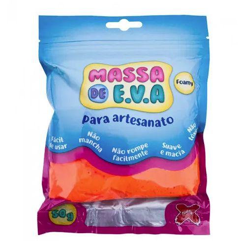 MASSA DE EVA LARANJA 50G UN GATE 72 13.004