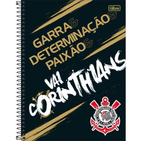 CADERNO CD UNV 01MAT CORINTHIANS 80F TILIBRA