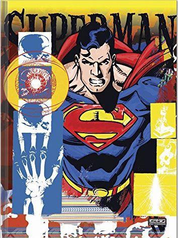 CADERNO BROCHURAO CD 96F SUPERMAN FORONI