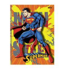 CADERNO BROCHURA CD 1/4 48F SUPERMAN SAO DOMINGOS