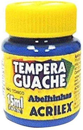 TINTA GUACHE 15ML AZUL ACRILEX 559