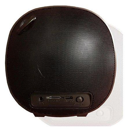 CAIXA SOM BLUETOOTH/SD/USB/FM ALTOMEX DOURADO/PRETO