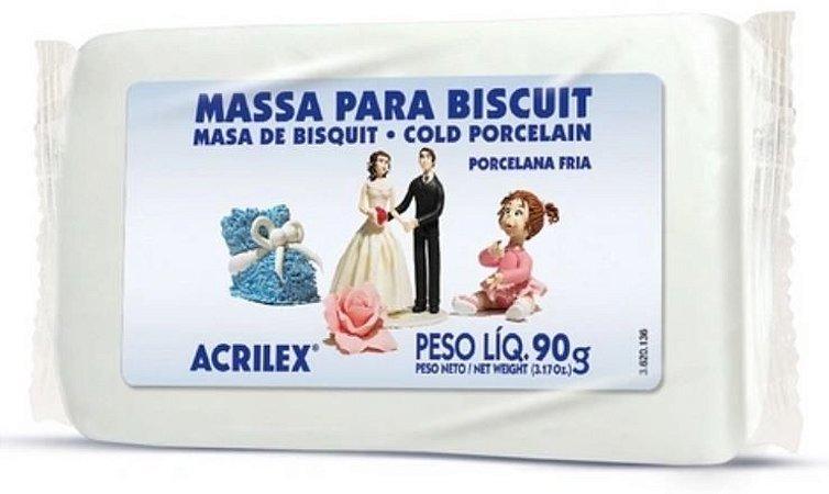 MASSA DE BISCUIT 90G ACRILEX 987