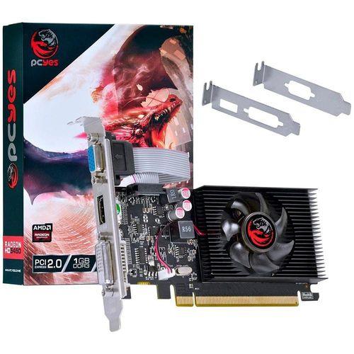 PLACA DE VIDEO  64 BITS 1GB DDR3 RADEON HD5450 PCYES PJ54506401D3LP