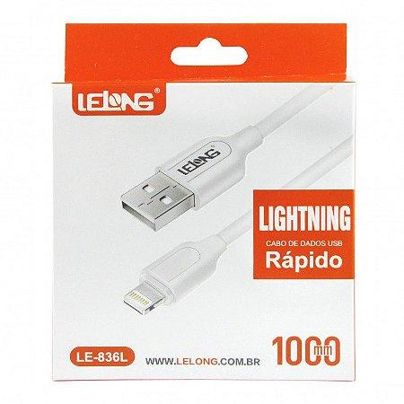 CABO USB APPLE 1 MT LELONG LE-836L