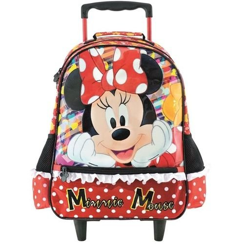 MOCHILA ESCOLAR MINNIE ITS ALL ABOUT MINNIE P C/ RODA XERYUS 8921