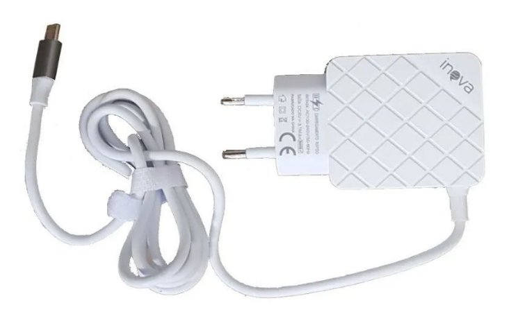CARREGADOR V8 2 USB 3.1A+CABO INOVA
