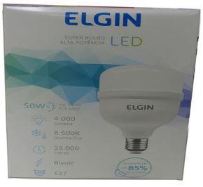 LAMPADA LED 50W BIV BULDO E27 6.500K ELGIN 48LSB