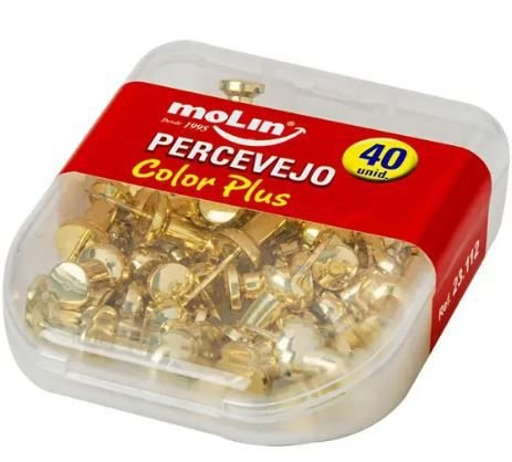 PERCEVEJO OURO 40UN MOLIN 23112