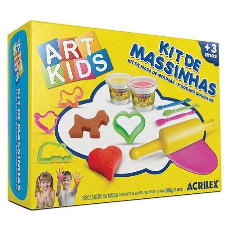 KIT DE MASSINHAS ART KIDS 3 ACRILEX