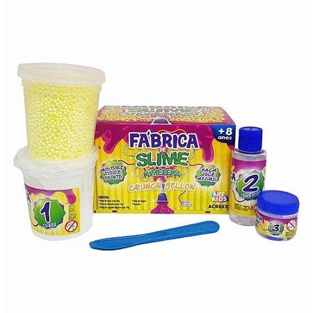 FABRICA KIMELEKA CRUNCH AMARELO ACRILEX 43001