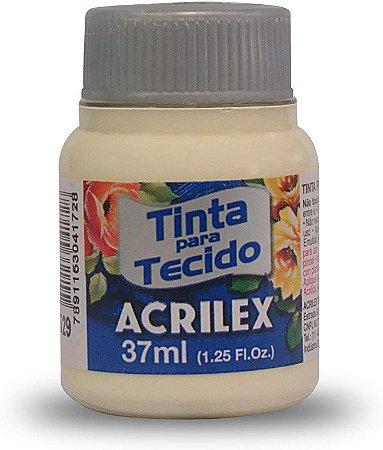 TINTA TECIDO 37ML MARFIM ACRILEX 529