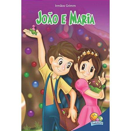 LIVRO HISTORIA JOAO E MARIA CLASSIC STARS TODO O LIVRO