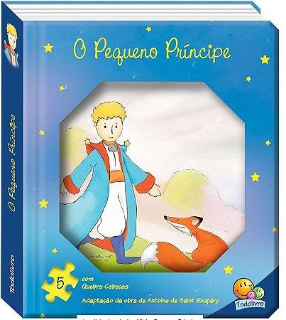 LIVRO CD O PEQUENO PRINCIPE QUEBRA CABECA TODO O LIVRO