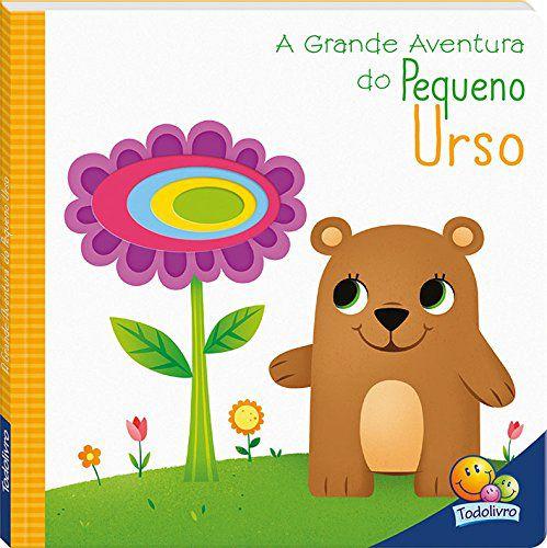 LIVRO CD A GRANDE AVENTURA DO PEQUENO URSO TODO O LIVRO