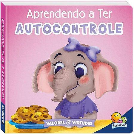 LIVRO CD APRENDENDO A TER AUTOCONTROLE VALORES E VIRTUDES II TODO O LIVRO