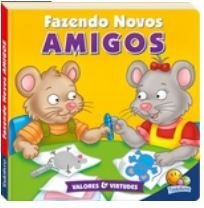 LIVRO CD FAZENDO NOVOS AMIGOS VALORES E VIRTUDES II TODO O LIVRO