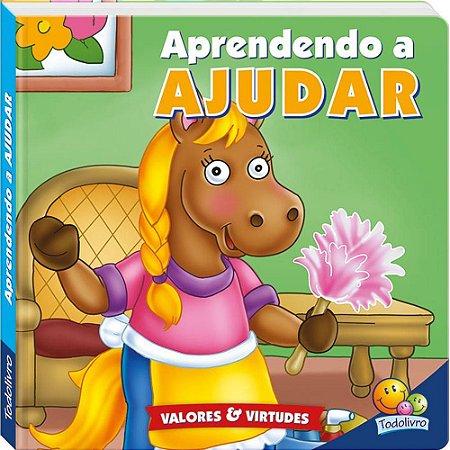 LIVRO CD APRENDENDO A AJUDAR VALORES E VIRTUDES II TODO O LIVRO