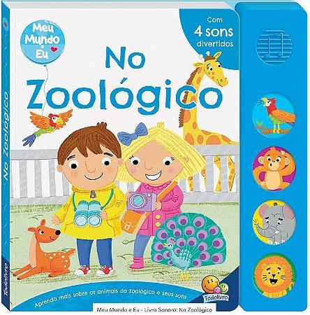 LIVRO HISTORIA CD MUSICAL NO ZOOLOGICO TODO O LIVRO