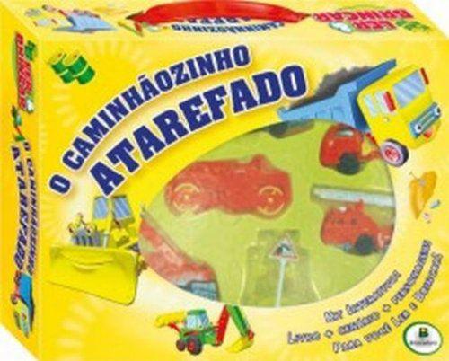 LIVRO CD O CAMINHAOZINHO ATAREFADO LER E BRINCAR TODO O LIVRO