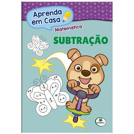 LIVRO MATEMATICA SUBTRACAO APRENDA EM CASA BRASILEITURA