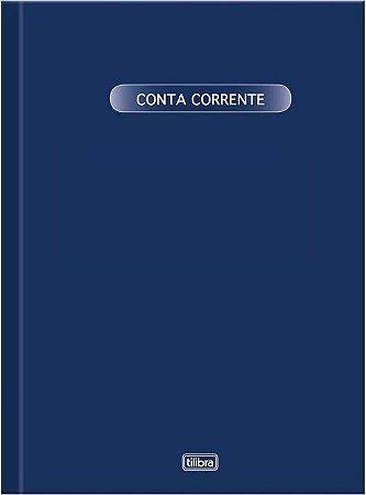 LIVRO CONTA CORRENTE GRANDE 50F TILIBRA