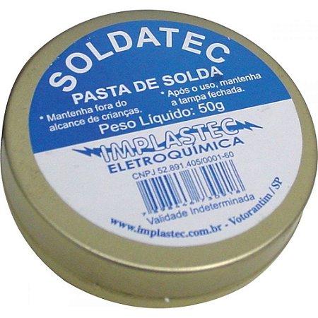 PASTA DE SOLDA IMPLASTEC 50 GR PASO0050PC