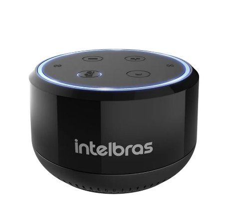 CAIXA SOM BLUETOOTH INTELIGENTE INTELBRAS AMAZON ALEXA