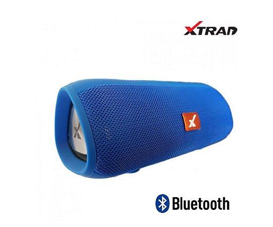 CAIXA SOM BLUETOOTH SD/USB E16+ XTRAD AZUL XDG-E16+