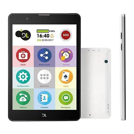 TABLET 7.8 1CHIP 3G 8GB WIFI PRETO DL TX385BRA