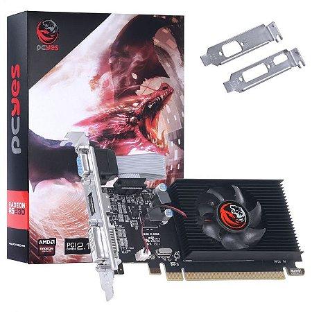PLACA DE VIDEO  64 BITS 2GB DDR3 RADEON R5 230 PA230R502D3LW