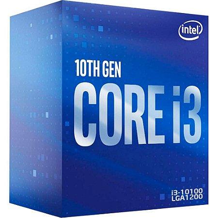 PROCESSADOR 1200 CORE-i3 10100 3.6GHZ 6MB BX8070110100