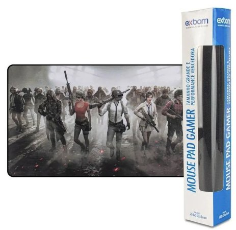 MOUSE PAD GAMER PU MISSION EXBOM MP-7