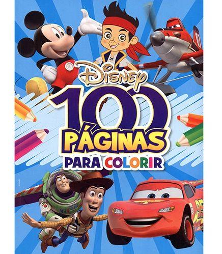 LIVRO 100 PAGINAS PARA COLORIR MENINOS BICHO ESPERTO