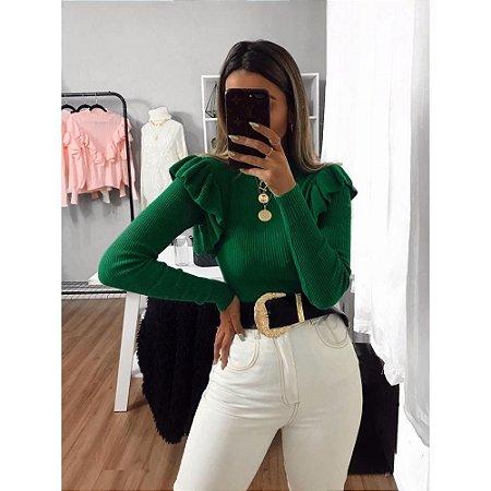Blusa Modal Canelada