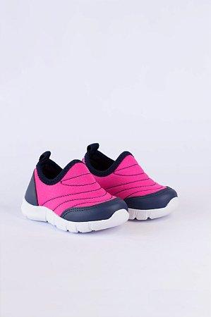 Tênis Infantil Jogging Rosa