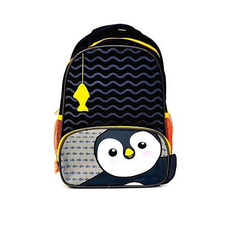 Mochila infantil - pinguim