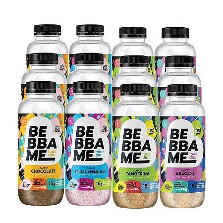 Mix Bebba Me Todo Dia - 12 unid. (3 de cada sabor)